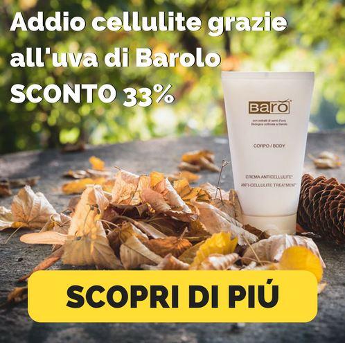 Anticellulite Barò SCONTO 33%