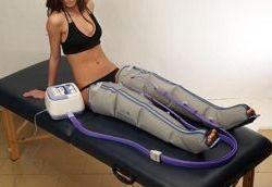 Seduta di Pressoterapia